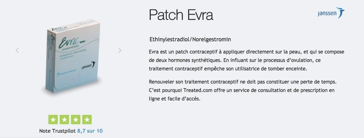 Patch contraceptif Evra : description, prix, effets