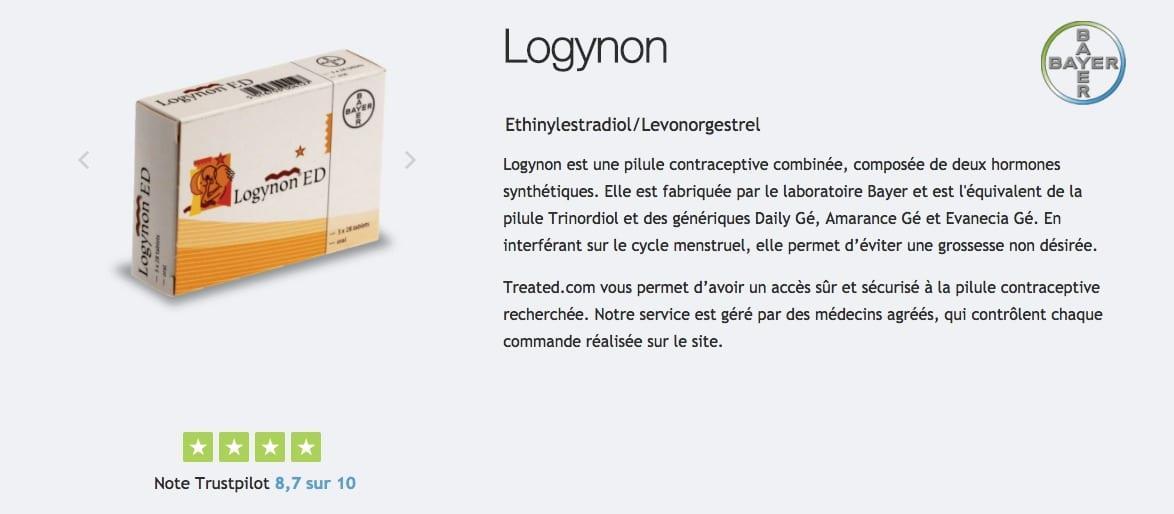 Acheter Pilule Logynon : description, prix, effets