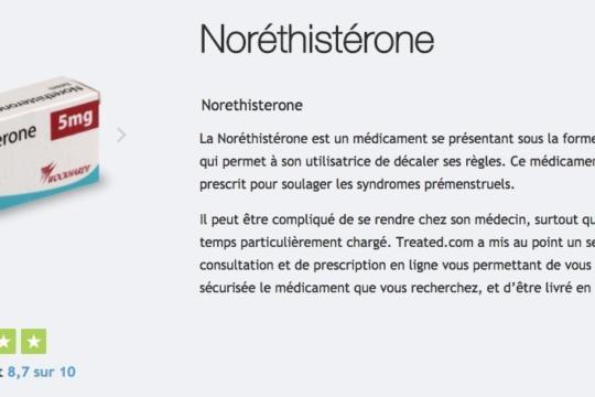 acheter norethisterone