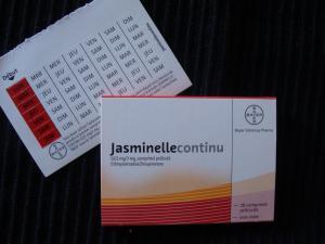 oubli pilule jasminelle continu