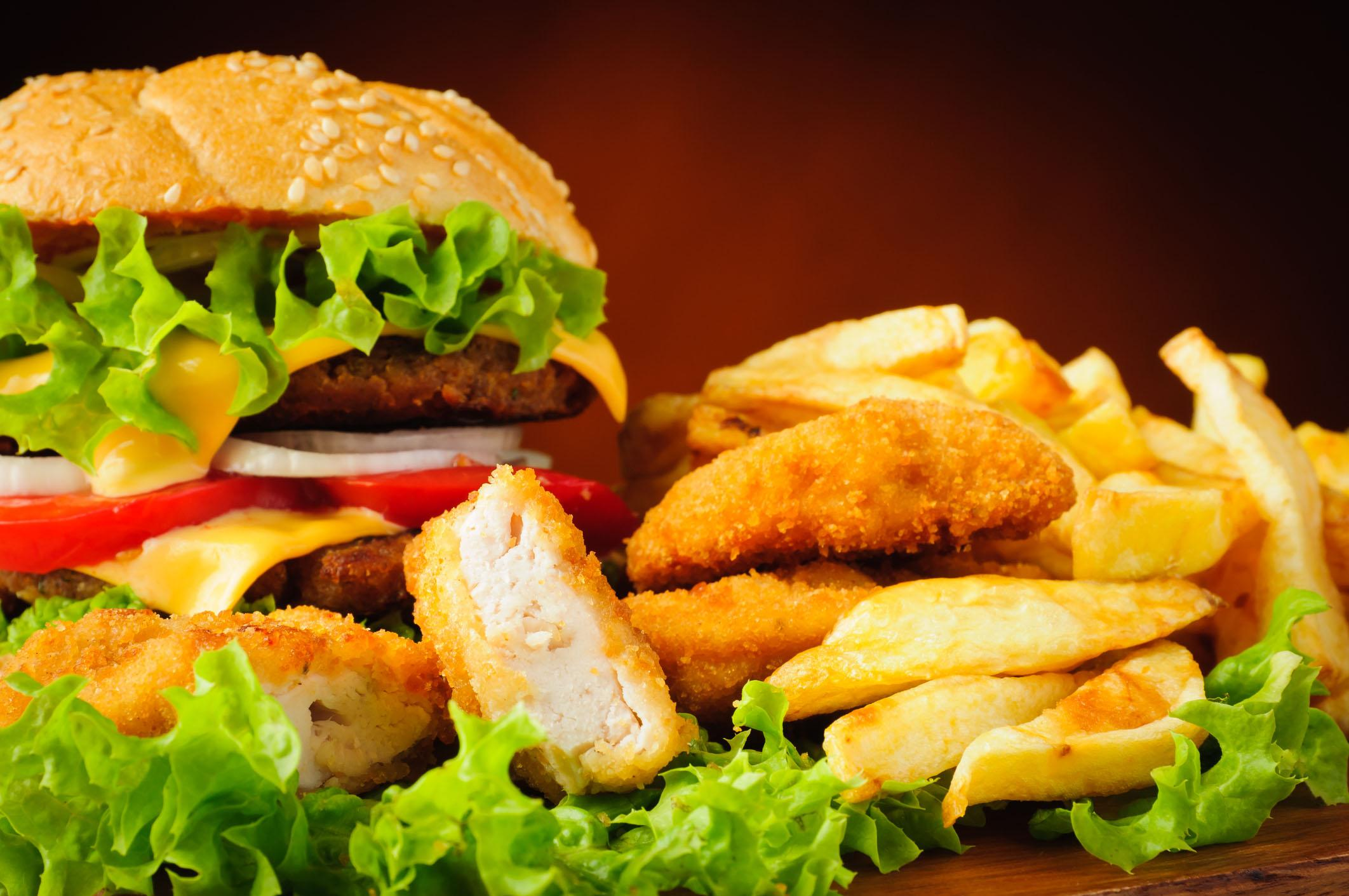 Classement des villes avec le plus de fastfood