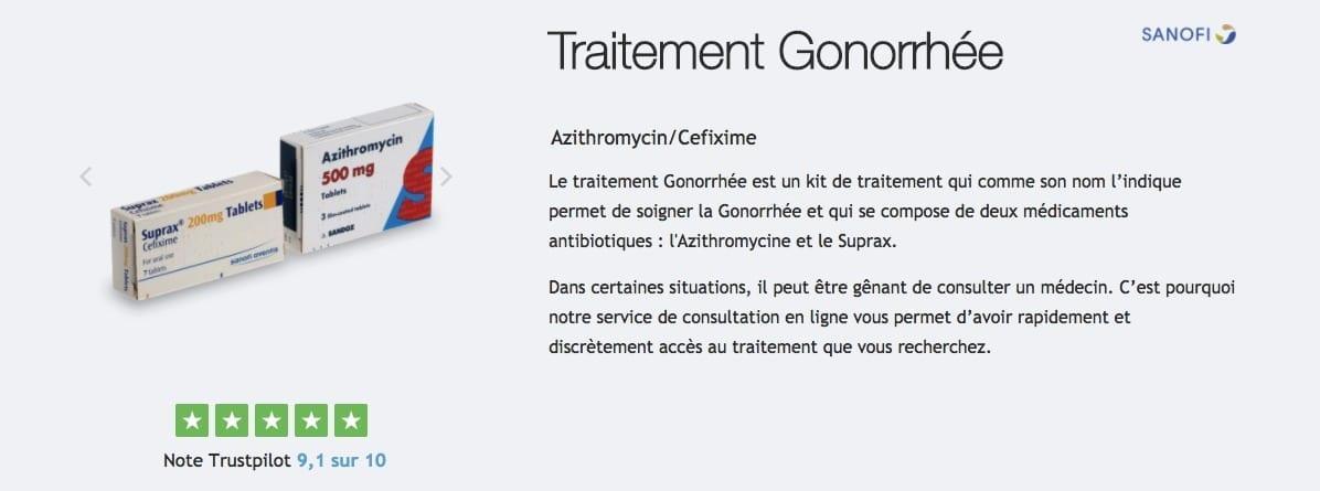 acheter pack gonorrhée