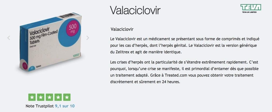 acheter valaciclovir pas cher