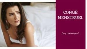 conge menstruel en france