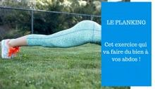 exercice planking