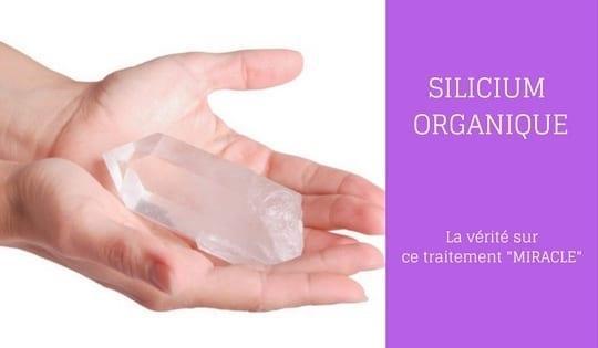 silicium organique achat