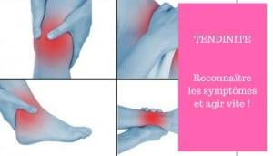 tendinite symptomes