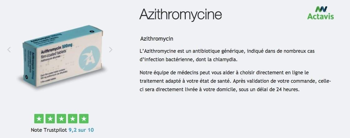 acheter azithromycine