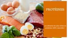 Comment Manger PLUS de Protéines ? La liste des Aliments à Privilégier (Imprimez-Là !)