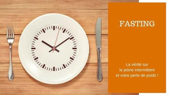 Perdre du poids fasting