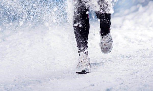 se motiver à courir dans le froid