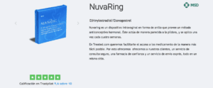 anillo vaginal nuvaring