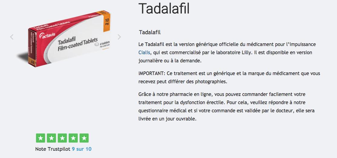 acheter tadalafil