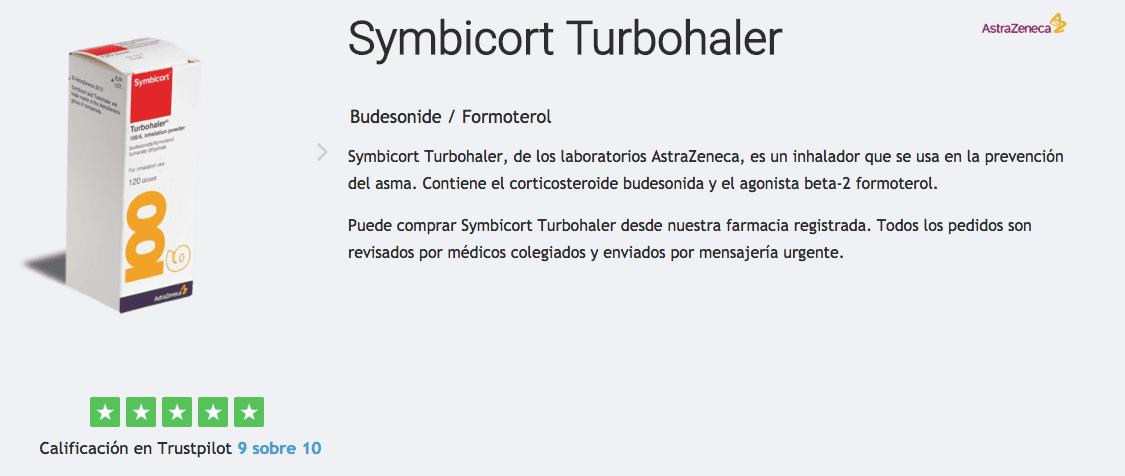 comprar symbicort turbohaler