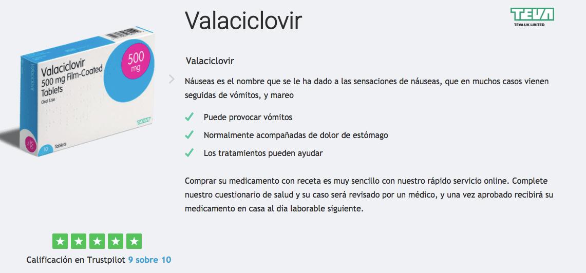 comprar valaciclovir espana
