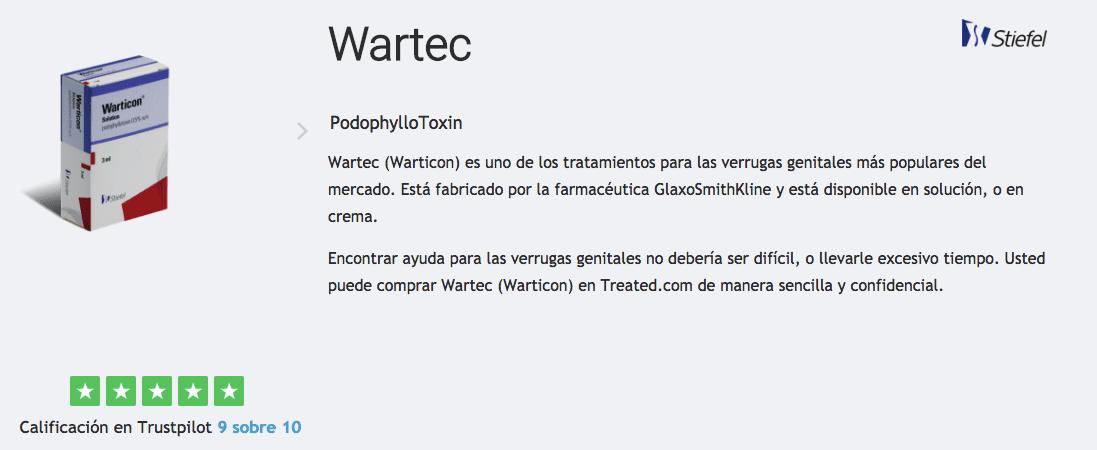 comprar wartec warticon espana