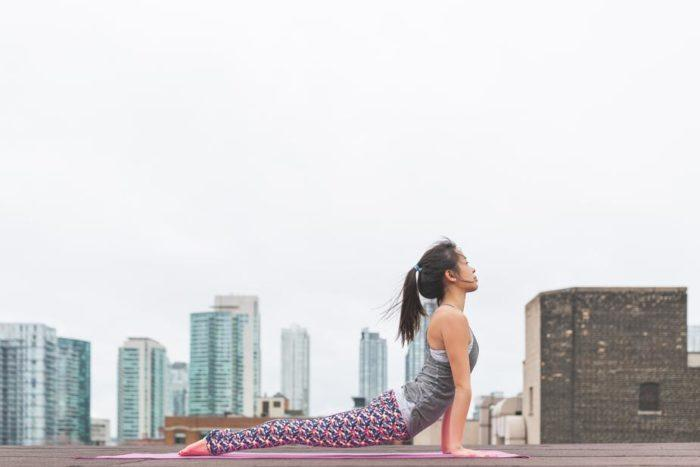 yoga posture du cobra