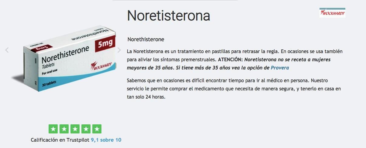 comprar noretisterona