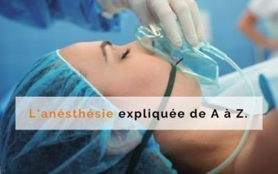 anesthesie explication