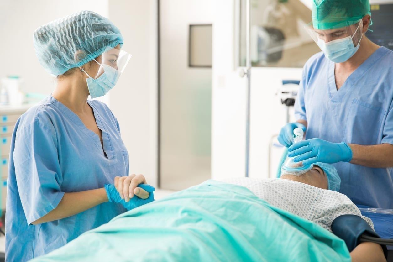 equipe medicale anesthesie