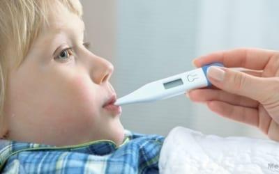prendre temperature thermometre medical