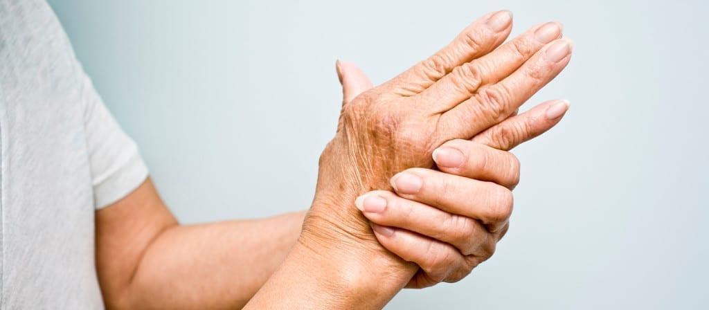 crise de goutte main