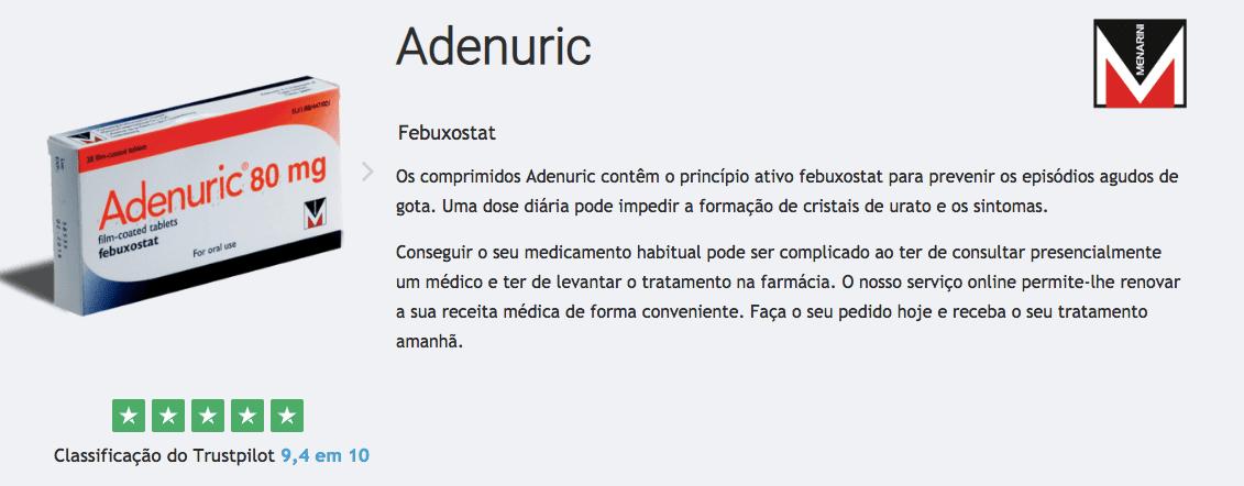 adenuric gota