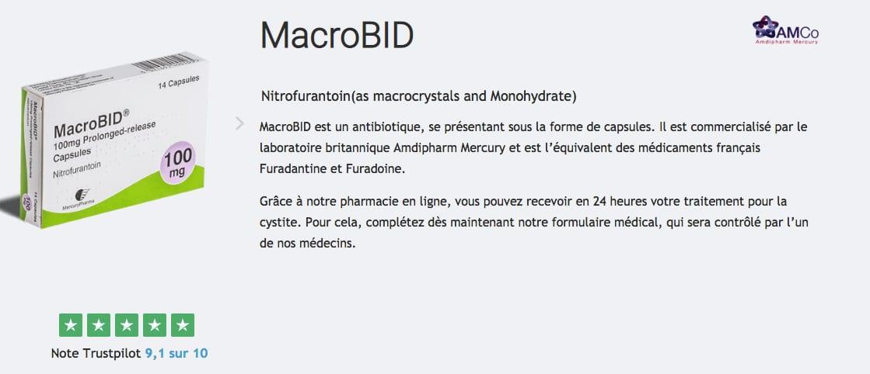 macrobid cystite