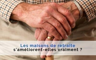 ameliration maison retraite