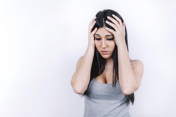 femme triste apres une separation