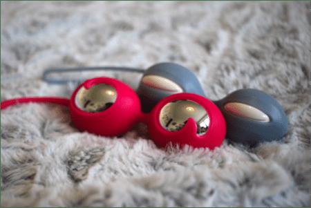 2 boules de geisha silicone