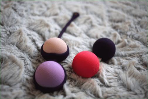 boules de geisha interchangeables