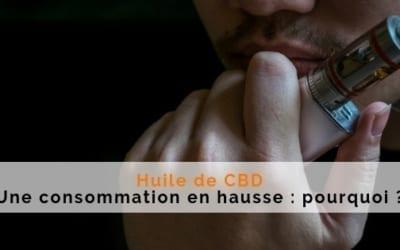 consommation huile cbd