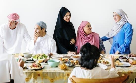 famille repas ramadan