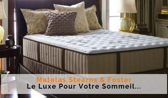 matelas de luxe stearns and foster 540x315