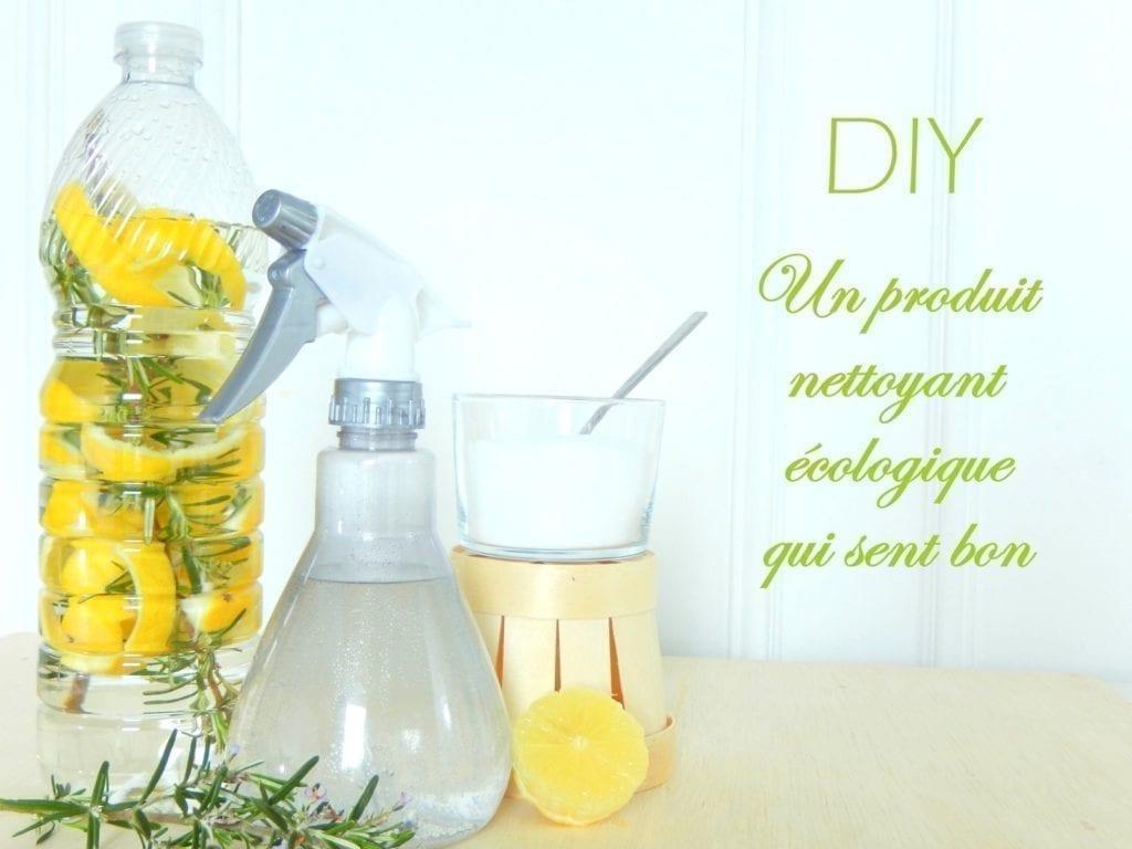 nettoyant maison citron