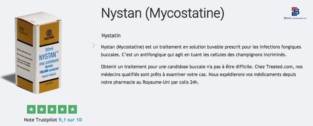 nystan mycostatine