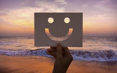 sourire et méditer