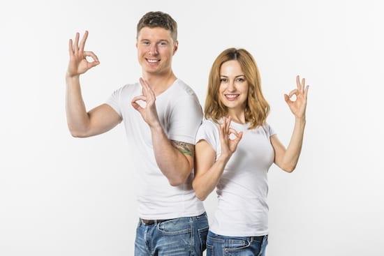 un couple qui se soutient
