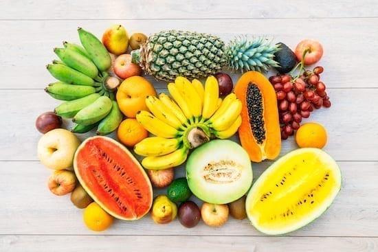 les fruits bons pour la santé