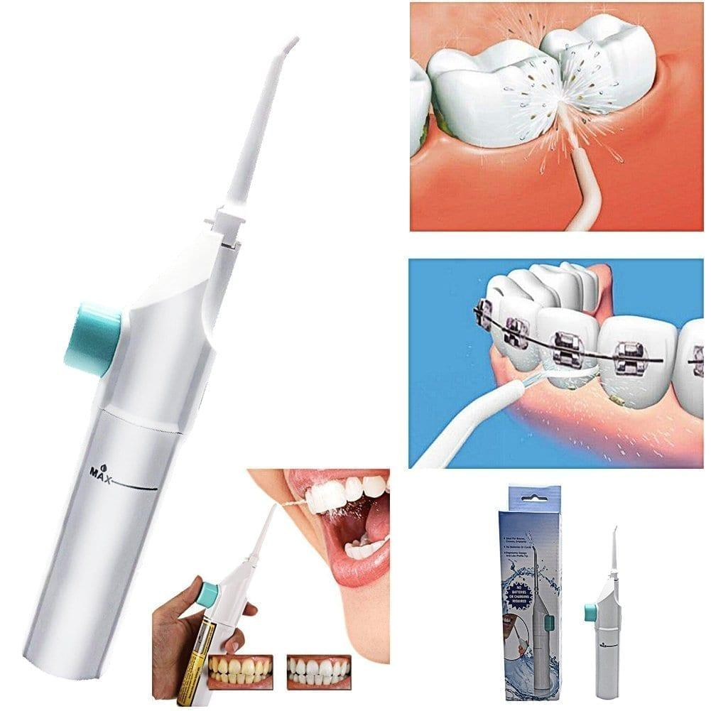 utilisation jet dentaire