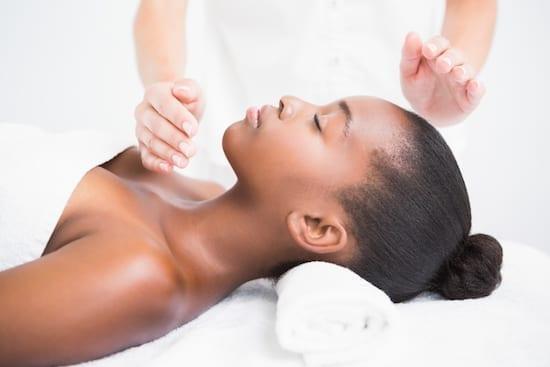 massage sans toucher