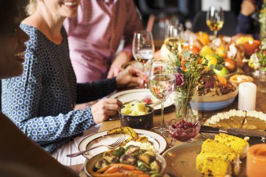repas de fêtes 540x360