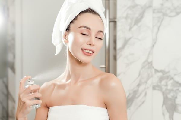 spray visage maquillage